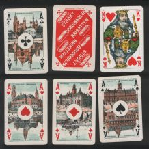 Collectable Advertising playing Stookt Briketten,for coal industry